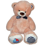 Ursulet de plus,Roben, 80 cm,Roz,Cu Papion,3 ani +
