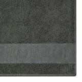 Prosop De Baie Bianca 70×140 CM – Colectia Lux – Culoare Gri Metalizat