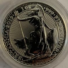 MAREA BRITANIE 2 POUNDS,1 OZ,2019 AG.999, Europa, Argint