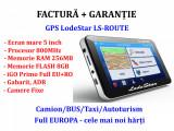 GPS NOU NAVIGATIE LodeStar 845MHz, 256MB RAM,8GB, iGO Primo full EU+ROMANIA 2020