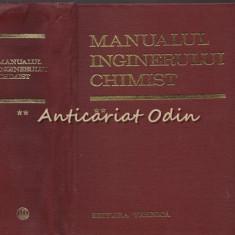 Manualul Inginerului Chimist II - Dumitru Sandulescu - Tiraj: 7640 Exemplare