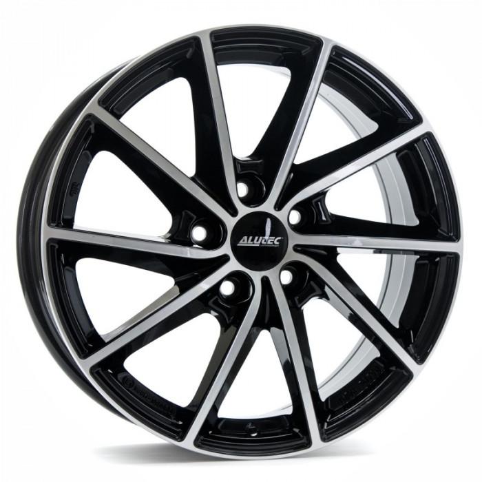 Jante AUDI A3 SPORTBACK 7J x 17 Inch 5X112 et49 - Alutec Singa Diamant-schwarz-frontpoliert - pret / buc