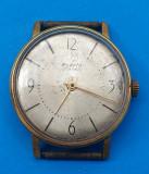 Obiect vechi de colectie 1960 RAKETA - Made in USSR - ceas de mana placat cu Aur, Mecanic-Manual
