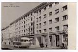 CLUJ  STRADA HOREA   PRIMUL AUTOBUZ  TIP-MTD MAO TZE DUN FABRICA  VULCAN1955-57, Circulata, Fotografie