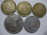 Romania (49) - 20 Lei 1991, 1992, 1993, 100 Lei 1994, 500 Lei 1999