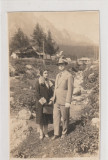 Busteni - Valea Alba - Persoane , barbat si femeie, Necirculata, Fotografie