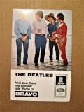 Poza veche cu formatia The Beatles. Probabil din 1966.