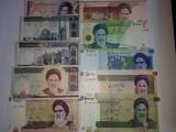 Iran Set 100,200,500,1000,2000,5000,10000,20000,50000,100000 Rials UNC