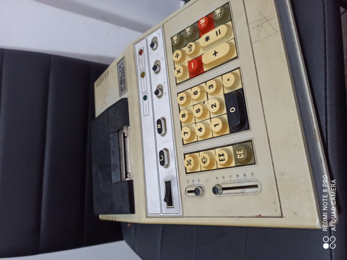 Calculator românesc cu role, Felix, functional