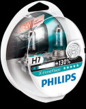 Set 2 becuri Philips H7 X-tremeVision Plus (+130% lumina) 12V 55W 12972XV+S2