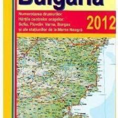 Harta Bulgaria |
