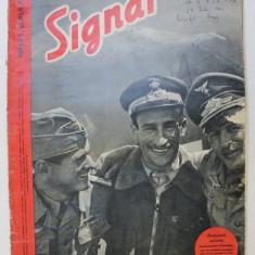 REVISTA ' SIGNAL ' , EDITIE IN LIMBA ROMANA , NUMARUL 1 DIN IULIE 1942