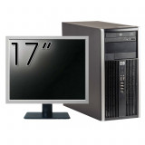 Calculator HP 6200 Tower, Intel Pentium G645 2.90GHz, 4GB DDR3, 250GB SATA, DVD-ROM + Monitor 17 Inch (Top Sale!)