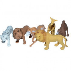 Figurine animale salbatice, 8 buc/set