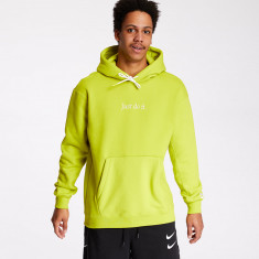 Nike Just Do It Heavyweight Hoodie Lime Green