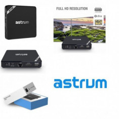 Media Player 4K Astrum AP500, Android 6.0, Wifi, 1/8Gb, BT, Lan.