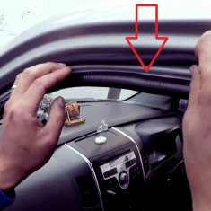 Cheder auto universal cu insertie de metal (pret pe metru liniar)