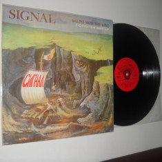 SIGNAL : Sailing With The Wind (1980) vinil rock bugaresc, stare VG+/VG+
