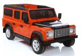 Masinuta electrica Land Rover, portocaliu