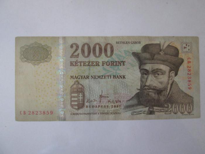An rar! Ungaria 2000 Forint 2007