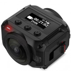 Camera Video de Actiune Garmin Virb 360, Filmare 5.7K, Bluetooth, Wi-Fi, GPS, Waterproof (Negru)