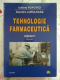 Tehnologie farmaceutică (Volum I) - Iuliana Popovici , Dumitru Lupuleasa