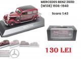 Macheta auto MERCEDES BENZ 260D (W138) 1936-1940 Scara 1/43, 1:43
