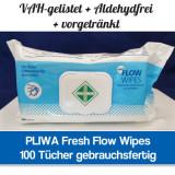 Servetele dezinfectante Flow wipes Pliwa 100buc
