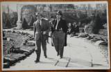Foto originala , Gheorghe Dinu ( Stephan Roll ) si Radu Arges in Cismigiu