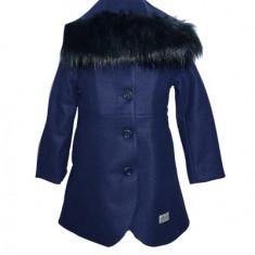 Palton pentru fetite fetite Umbo HSP1-B-1, Bleumarin