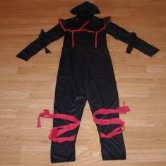 Costum carnaval serbare ninja pentru copii de 9-10 ani, Din imagine