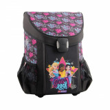 Ghiozdan scoala Easy LEGO® Core Line, Friends Girl Rock, Fata, Rucsac