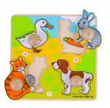 Primul meu puzzle - animale de companie, Bigjigs