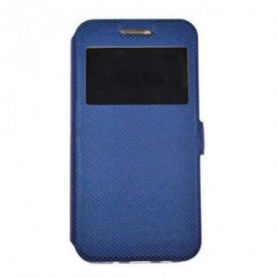 Husa Time View cu magnet lateral pentru Huawei P30 Pro, Blue foto