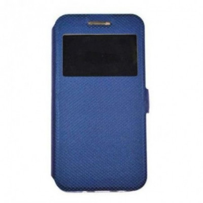 Husa Time View cu magnet lateral pentru Allview X3 Soul Pro, Blue foto