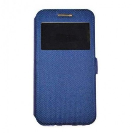 Husa Time View cu magnet lateral pentru Huawei P30 Pro, Blue