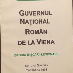 GUVERNUL NATIONAL ROMAN DE LA VIENA - HORIA SIMA