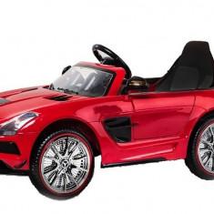 Masinuta electrica Mercedes SLS STANDARD 2x 25W 12V Rosu