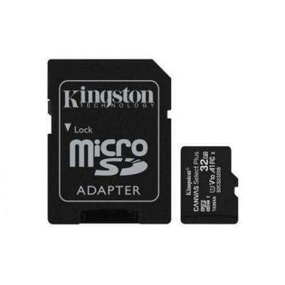 Card de memorie Kingston Canvas Select Plus 100R A1 32GB SDXC Clasa 10 + Adaptor SD foto