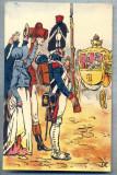 AX 61 CP VECHE INTERBELICA - ARMATA IMPERIALA FRANCEZA -MILITARA, Franta, Necirculata, Printata