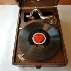 PATEFON RUSESC -anii 1940 -perfect functionabil