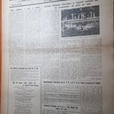 Sportul popular 13 august 1953-articole-polo,fotbal,ciclism,baschet