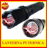 Cumpara ieftin Electrosoc Lanterna Electrosoc 10.000 KV led POLICE Metal Autoaparare