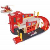 Cumpara ieftin Pista de Masini Fireman Sam Fire Rescue Center cu Elicopter si Accesorii
