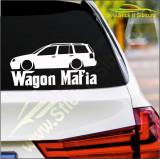 Wagon Mafia -Stickere Auto-Cod:ESV-116 -Dim 20 cm. x 4.4 cm.