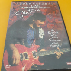 DVD SUPERNATURAL LIVE SANTANA ORIGINAL