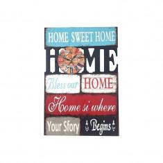 Ceas cuvinte - Home 31x45 cm