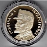 Romania 2019  50 bani Regele Ferdinand - Proof in capsula