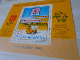 1983/2018 LP 1082  ZIUA MARCII POSTALE ROMANESTI -colita