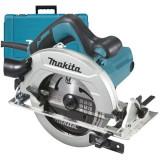 Fierastrau circular HS7611K, 1600 W, 5500 RPM, 190 mm diametru disc, 65 mm adancime taiere, Makita